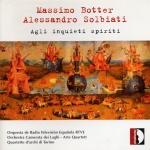 CD Cover Agli Inquieti Spiriti