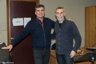 ...con Francisco Martinez - Civica Milano 2016-2-2