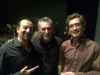 Con Bettinelli e François Salés